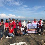 DPW Kader Militan Jokowi Sumatera Barat bersih-Bersih Pantai