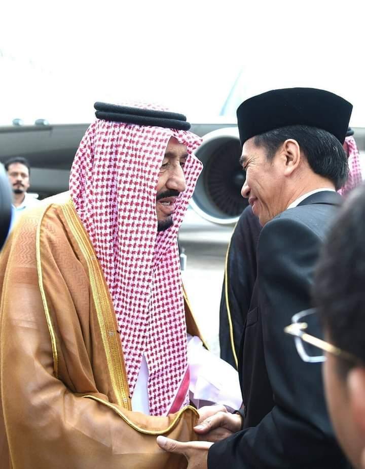 Presiden Jokowi Hubungi Raja Salman Bin Abdul Aziz