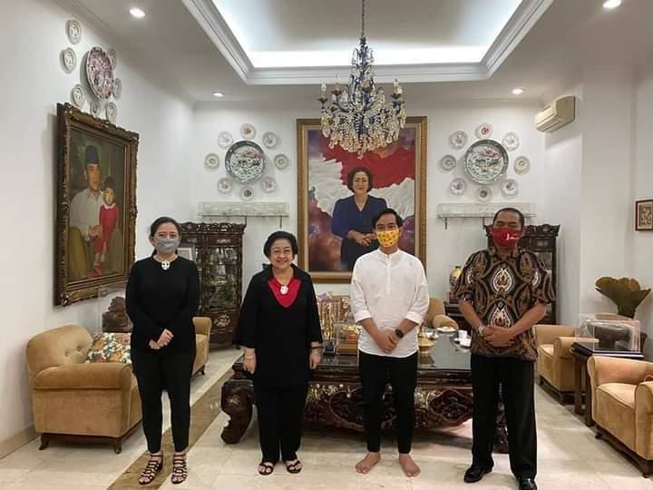 Megawati Terima Gibran dan FX Hadi Rudyatmo
