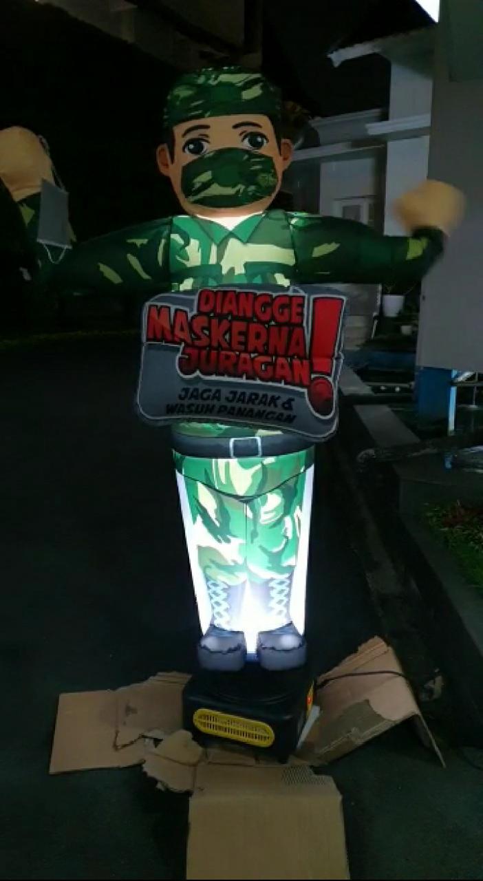 Kasdam III/Slw Brigjen TNI Kunto Arief Wibowo, S.I.P.