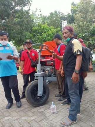 Ketua DPD Kamijo Banyuwangi dan Jajaran Seusai Terima Bantuan Mesin Pertanian untuk Petani
