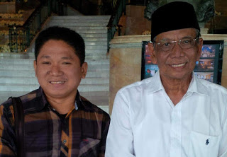 Foto: Gus Din / RB. Syafrudin Budiman SIP saat bersama Alm. KH. Hasyim Muzadi,