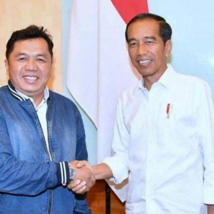 Aidil Fitri Kordinator Aliansi Relawan Jokowi dan Presiden Joko Widodo