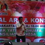 Kegiatan Aliansi Relawan Jokowi (ARJ) saat konsolidasi di Jakarta