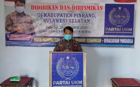 H. Bustan Pinrang Ketua Umum DPP Partai UKM