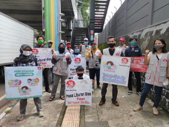 ketua GA Covid 19 Kota Bandung dan Ketua DPD Kota Bandung Dadang Sutisna
