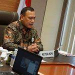 Ketua KPK Firli Bahuri,  dalam memperingatii HUT Korpri Ke-49.