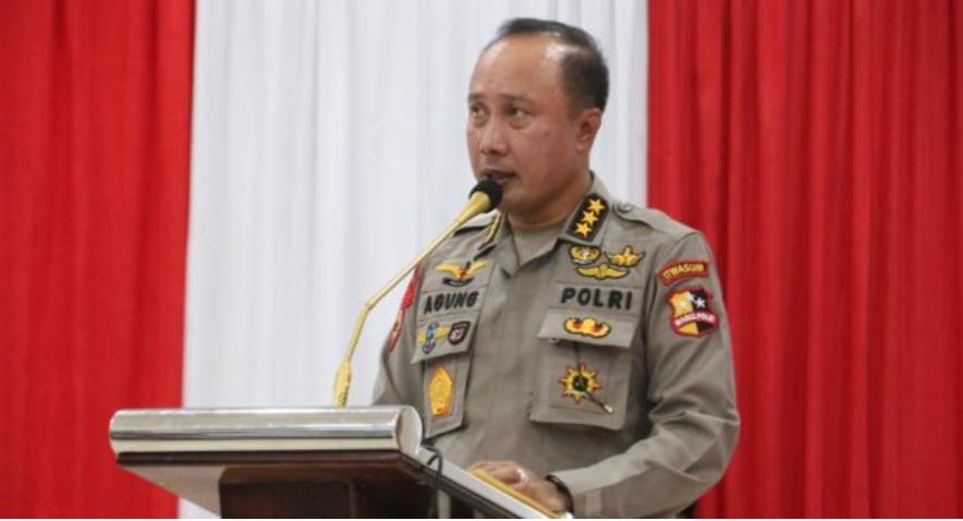 Irwasum Polri, Komjen Pol Agung Budi Maryoto mengunjungi Polda Kalimantan Barat pada Selasa 1 Desember 2020