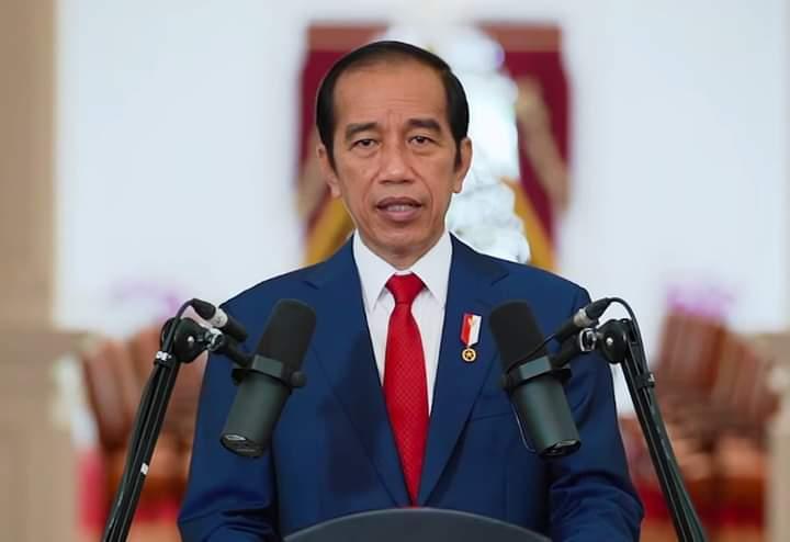 Presiden Jokowi dalam Konferensi Tahunan TPB/SDGs Indonesia Tahun 2020 yang ditayangkan secara virtual