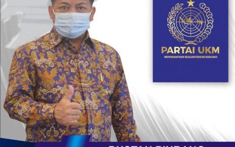 Bustan Pinrang Ketua Umum DPP Partai UKM