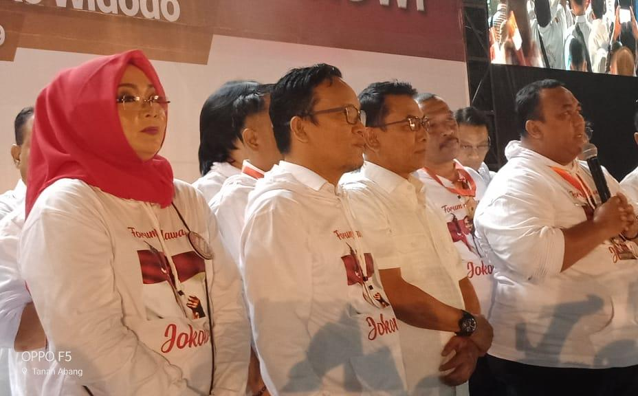 Immanuel Ebenezer Ketua Umum Relawan Jokowi Mania