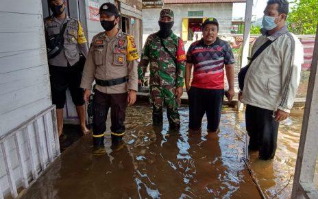 Kondisi Saat Ini Desa Beringin Direndam Banjir Mencapai +- 50 Atau Sepaha Orang Dewasa