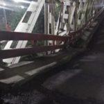 Jembatan Sungai Rembun Amblas 2 Meter, Jalur Pantura Pekalongan Pemalang Macet Total