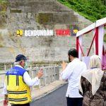 Presiden Jokowi Resmikan Bendungan Tukul Pacitan Dukung Ketahanan Pangan dan Pertanian