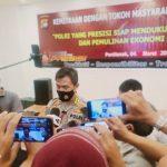 Kapolda Kalbar Kemitraan Dengan Tokoh Masyarakat Dan Awak Media Untuk Mendukung Pemulihan Ekonomi Nasional