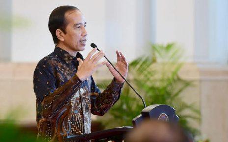 Presiden Joko Widodo Rapat Koordinasi Dengan  Kepala Daerah Digelar Secara Virtual