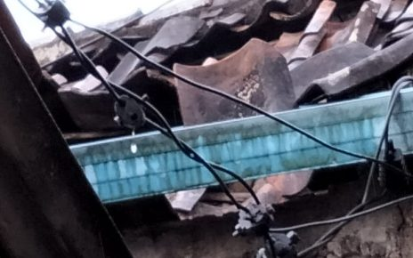 6 Rumah Warga Panjalu Sukabumi, Rusak Parah di Guyur Hujan dan Angin Kencang