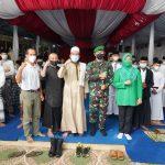 Jum'at Berkah Bulan Ramadhan, Korem.061 SK Berbagi Tali Asih dengan Santri dan Yatim